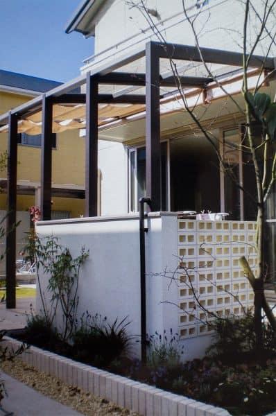 モダンスタイル 西神の家|GARDENさくら 兵庫県神戸市西区の女性建築士が造る庭・ガーデニング・外構・エクステリア