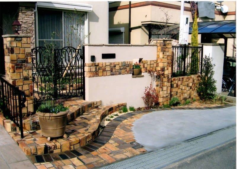 耐火レンガの家 GARDENさくら 兵庫県神戸市西区の女性建築士が造る庭・ガーデニング・外構・エクステリア