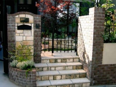 イギリス・ミントの家 GARDENさくら 兵庫県神戸市西区の女性建築士が造る庭・ガーデニング・外構・エクステリア