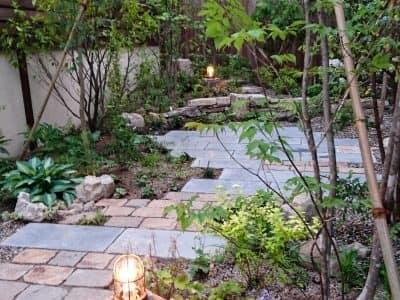 武庫之荘癒しの庭- 女性建築士が造る庭・ガーデニング・外構 神戸 GARDENさくら