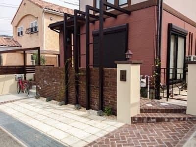 西神南、北欧レトロの庭-女性建築士が造る庭・ガーデニング・外構 神戸|GARDENさくら